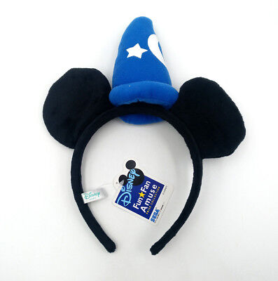 Disney Parks Minnie Mouse Ears Mickey Blue Hat Party Festival Gift Cos Headband - Minnie Mouse Birthday Hats