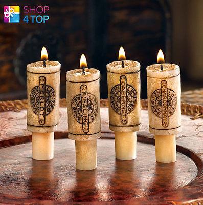 Weinflasche Kork Kerzen Set ROMANTIC Dinner Heim Dekor Gelb Original Geschenke