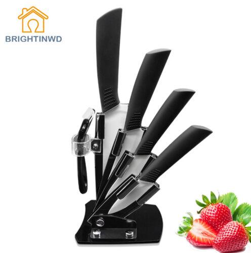 "Zirconia Kitchen Knives Ceramic Knife 3"" 4"" 5"" 6"" Peeler Par"