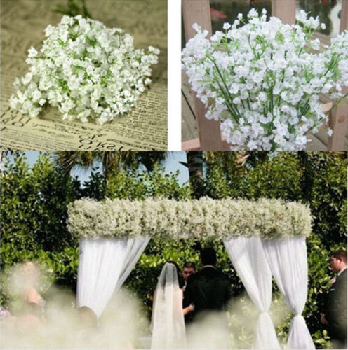 20pcs artificial flowers white gypsophila floral bouquet fake 20pcs artificial flowers white gypsophila floral bouquet fake wedding home decor mightylinksfo