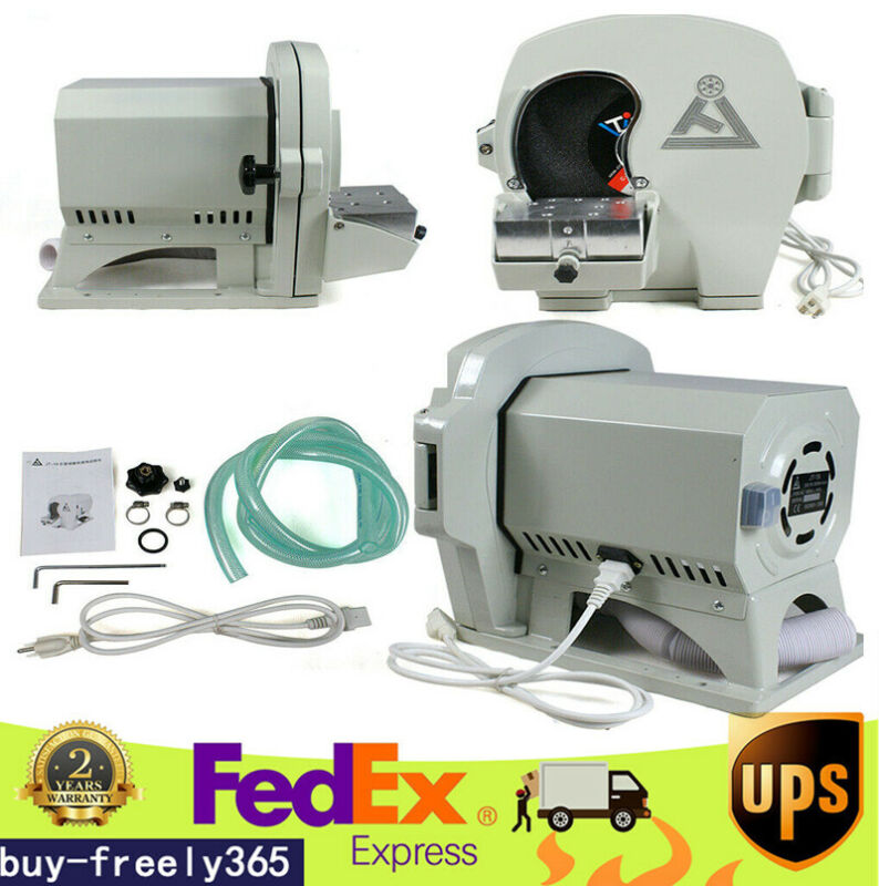 Dental Wet Model Trimmer Shaping Plaster Grinder Gypsum Abrasive Trimming 500W