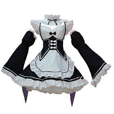 Women Maid Costume Anime Cosplay Lolita Fancy Dress Black Headwear 3XL](Anime Costume For Women)