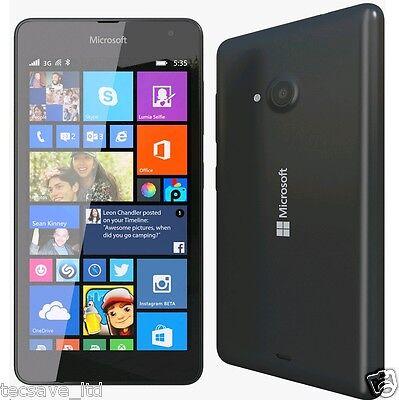 Brnd Neu Nokia Lumia 535 Schwarz 8GB Windows 8.1 Entsperrt Smartphone 5 Zoll ()