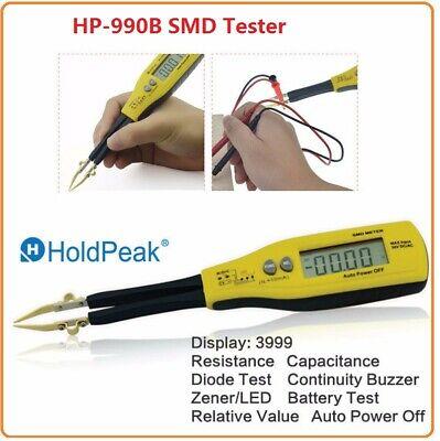 Resistance Capacitance Smd Tester Meter Multimeter Professional Component Tester