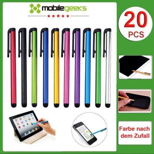 20PCS/PACK Eingabestift Stylus Pen Touchscreen Stift für Handy Smartphone Tablet