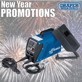 DRAPER 83402 230V ARC/TIG INVERTER WELDER KIT (100A)