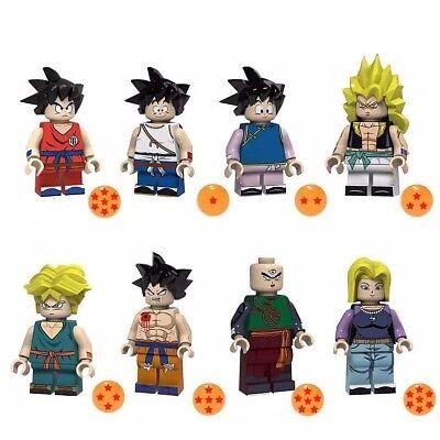 Dragon Ball Z Dragonball Figur Fighter Manga Action Sammler Anime Mini Figur NEU