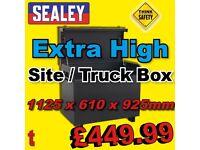 Sealey SSB07 Site Box Truck Box Van Vault lock up HIGH 1125x610x925mm
