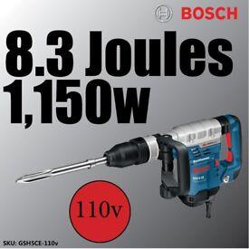 Bosch GSH 5 CE Demolition Hammer SDS-max Pro 110v GSH5CE KANGO CONCRETE HEAVY BREAKER