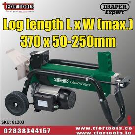 DRAPER 81203 1500W 4 TONNE 230V LOG SPLITTER