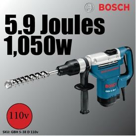 Bosch 110V Rotary Hammer with SDS-max GBH 5-38 D Professional