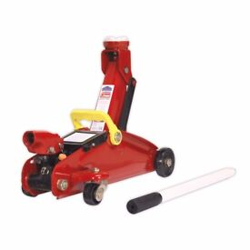 Sealey 1015CX Trolley Jack 1.5 tonne Short Chassis Lightweight