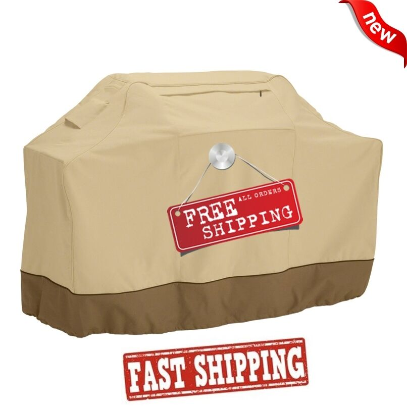 "BBQ Gas Grill Cover 58 64 70"" Barbecue Heavy Duty Waterproof"