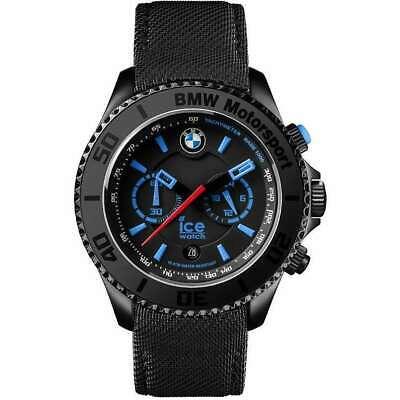 NEW ICE BMW Motorsport Black 44mm Watch BM.KLB.B.L.14 - NEXT DAY DELIVERY