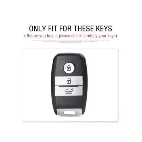 TPU Carbon Car Key Cover Case Protective For Kia Rio Sportage 2016 Ceed Sorento