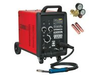 Sealey SUPERMIG230 Pro MIG Welder 230Amp 230V with Binzel® Euro Torch
