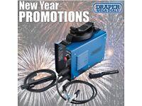 DRAPER 64533 140A 230V ARC/TIG INVERTER WELDER KIT