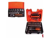 "Bahco S400 40 Piece Socket Set 1/2"" Drive + Bahco SL25 25 Piece Socket Set 1/4"" Drive"