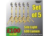 5X DRAPER 51374 EXPERT 110V 10W COB LED WORK LAMP BULK RATES
