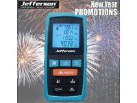 JEFFERSON 60M LASER DISTANCE MEASURE METER JEFLDM600