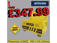 Jefferson SiteSafe 565 Large Truck Box With Gas struts 1065x510x565mm