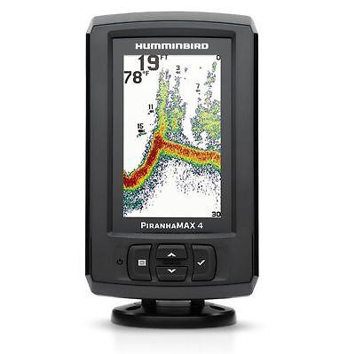 Humminbird Piranhamax 4 Colour Display Dualbeam Sonar Fishfinder