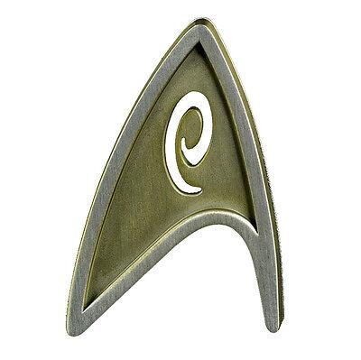 Metall Abzeichen Starfleet Division Badge - Engineering Scotty -Star Trek Beyond Star Trek Abzeichen