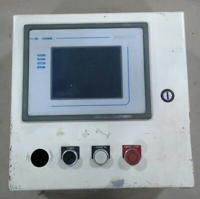 Uniop Ect-16-0045 Touch Screen Interface Panel With Cabinet 053tw