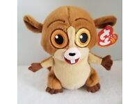 NMT* Ty Beanie Baby ~ MORT the Madagascar Movie Lemur MWNMT 5 Inch