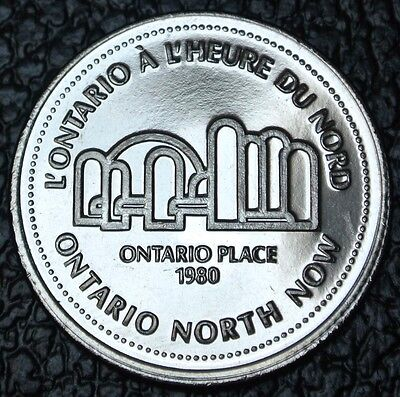 1980 NORTHERN ONTARIO DOLLAR TOKEN - Ontario Place - Ontario North Now