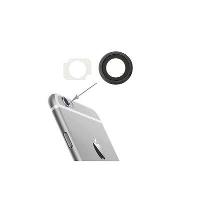 Lente fotocamera vetro obiettivo CAMERA POSTERIORE + Biadesivo PER IPHONE 8 8G