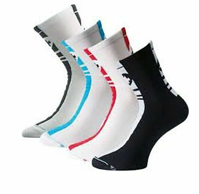 Cycling Socks ASSOS MILLE White//Black US 7-9 EU 39-42 Made In Italy Euro Design