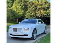 Rolls Royce hire London. Wedding and prom car hire London