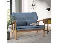 Punta Gorda 2 Seater Loveseat BLUE selling at £150 BNIB