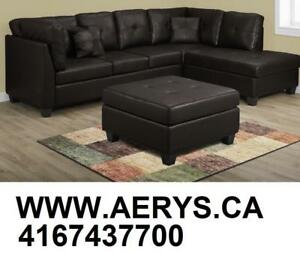 WHOLESALE FURNITURE WAREHOUSE LOWEST PRICE GUARANTEED WWW.AERYS.CA sectional starts from $295