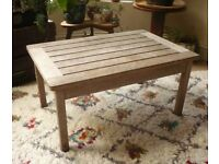 FREE Vintage Antique Distressed Wood Coffee Table Side Table