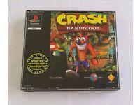 Crash bandicoot Ps1 Rare