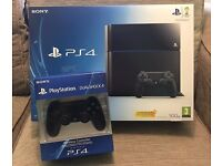PlayStation PS4 with Additional Controller & Games