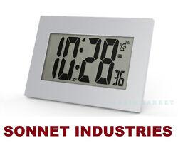 "SUPER LARGE 3.5"" LCD NUMBER ATOMIC ALARM CLOCK"