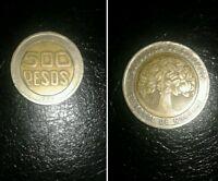 Colombia Moneta Del 1995 500 Pesos Bimetallica -  - ebay.it
