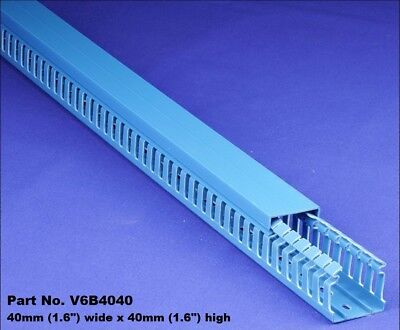 25 Sets -1.5x1.5x2m Blue High Density Premium Wiring Ducts And Covers -ulcsa