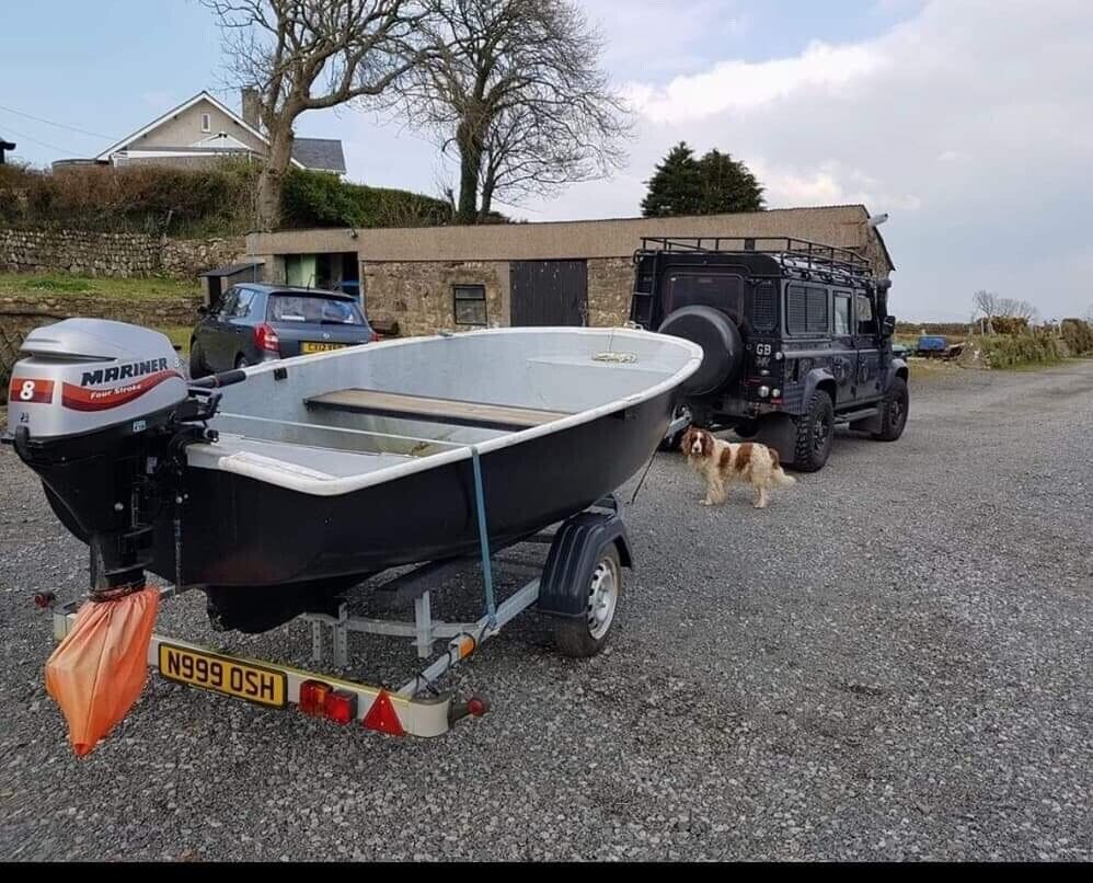 Open top fishing boat, very stable solid boat great for fishing   in  Llandudno, Conwy   Gumtree