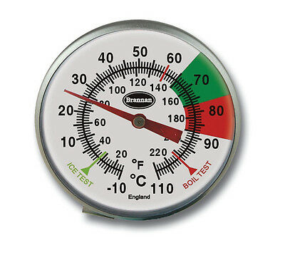 STAINLESS STEEL FROTHY COFFEE & MILK THERMOMETER 175MM - BARISTA - 31/151/0