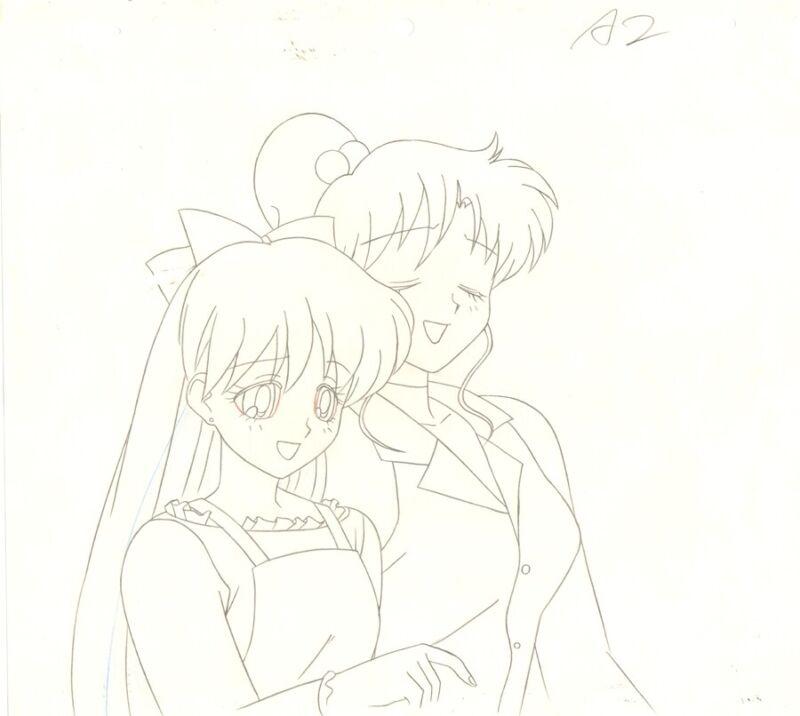 Anime Genga not Cel Sailor Moon #1208