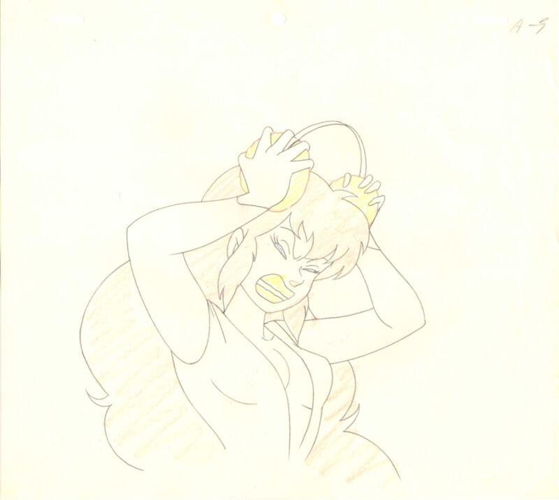 Anime Genga not Cel Urusei Yatsura #78