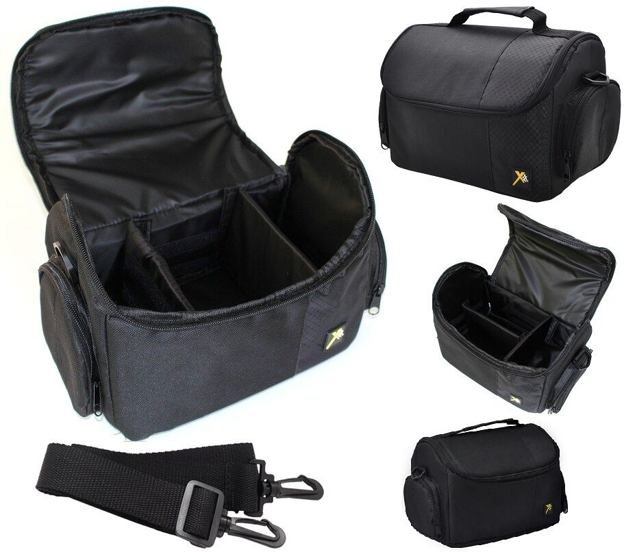 Deluxe Large Camera Carrying Bag Case For Nikon D3000 D3100