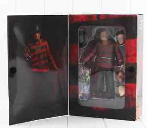 Nightmare on Elm Street Freddy Krueger 30th Action Figure Collectable Toy