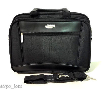 SAMSUNG Computer Laptop Business Professional Briefcase Bag * BLACK