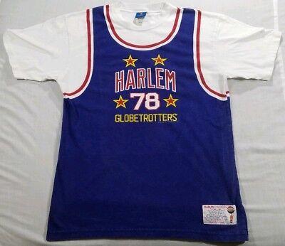 Retro Vintage Harlem Globe Trotters Jersey Shirt #78 Basketball Globetrotters