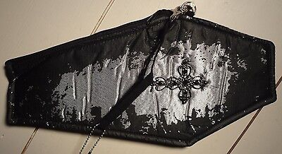 Halloween/GOTHIC/Vampire Coffin Clutch Purse (Costume)